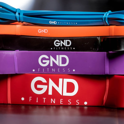 5 pack of Resistance bands GND Fitness
