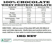 GND Chocolate Whey Protein Isolate 1kg