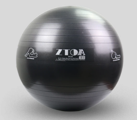Slate Grey 75cm fit ball from GND Fitness