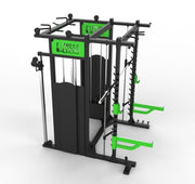GND Cable Weights & Smith Machine Rack // Lime Green