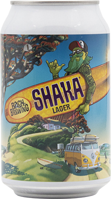 Bach Brewing Shaka Lager