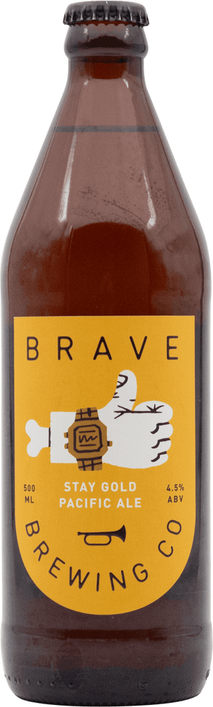 Brave Brewing Co Stay Gold