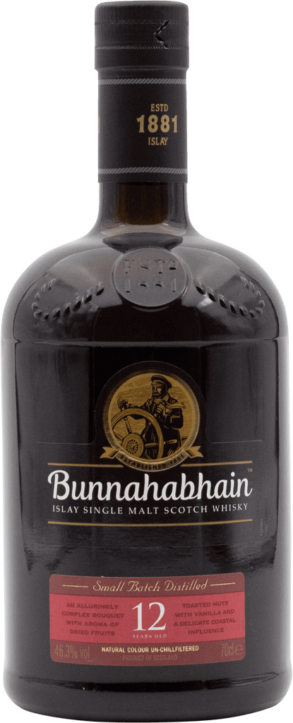 Bunnahabhain 12YO Scotch Whisky