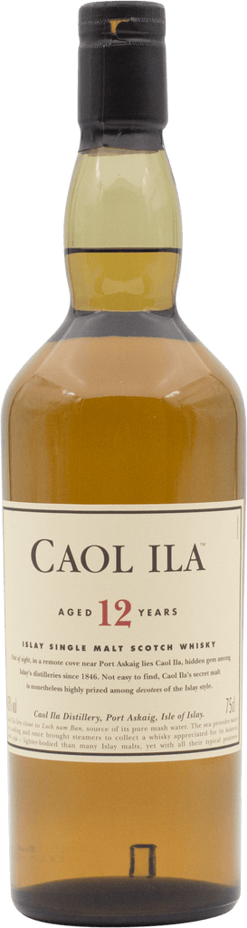 Caol Ila 12YO Scotch Whisky