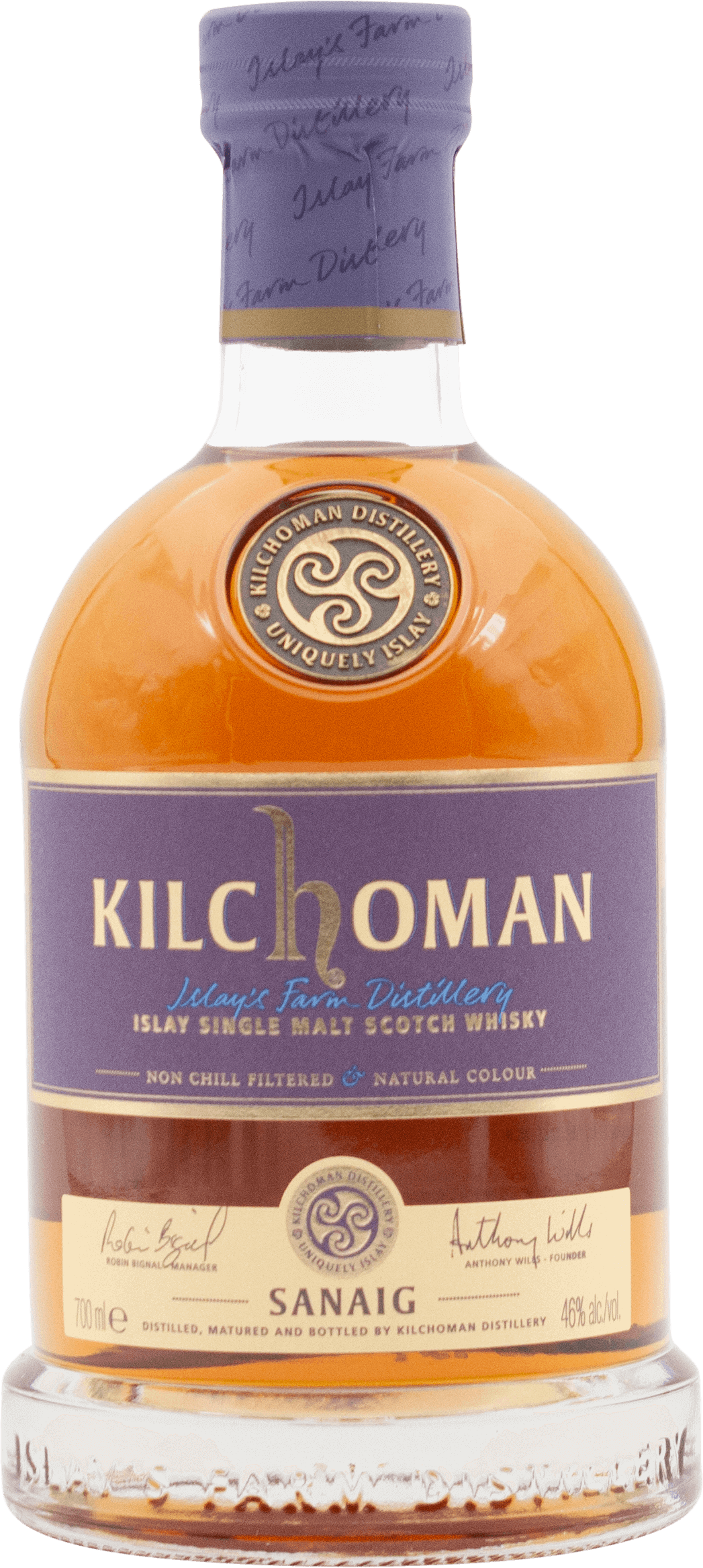 Kilchoman Sanaig Scotch Whisky