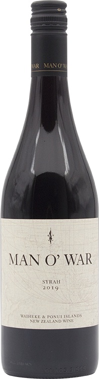 Man O' War Estate Syrah 2019