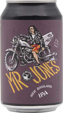 Mount Brewing Co Mr Jones NEIPA
