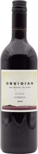 Obsidian Estate Vitreous 2016