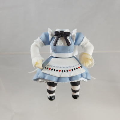 296 -Alice's dress with Sitting Lower Half Only