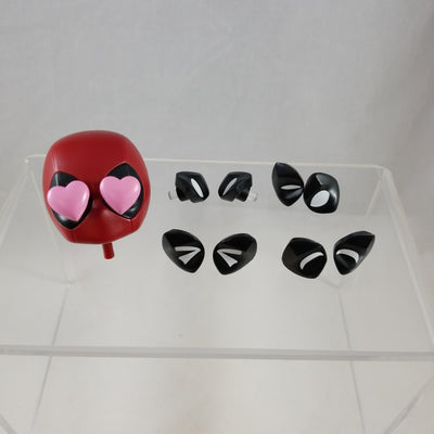662 -Deadpool's Head with 5 Different Pair of Eyes