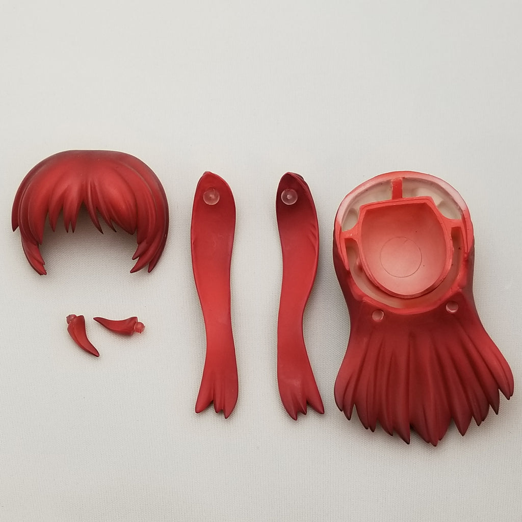 154 - Long Red Hair with 6 parts