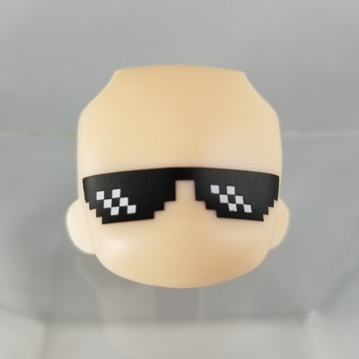 Nendoroid More Faceswap 3- Pixelated Sunglasses