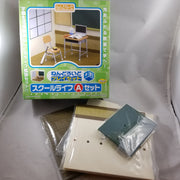 Playset School LIfe or Cultural Festival Set A: Diorama with Window