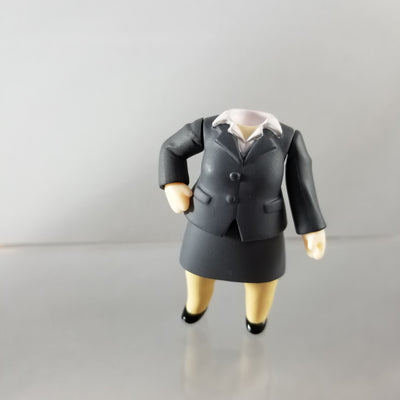Nendoroid More: Suits Female Grey Suit