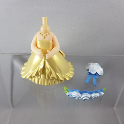 Nendoroid More: Wedding Dress Gold with Blue Flowers