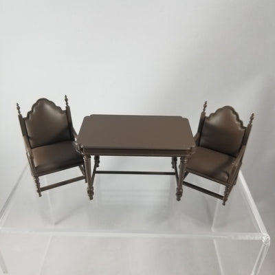 Playset European Room B: Dining Table with 2 Chairs