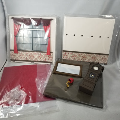 Playset European Room A: Diorama with Window