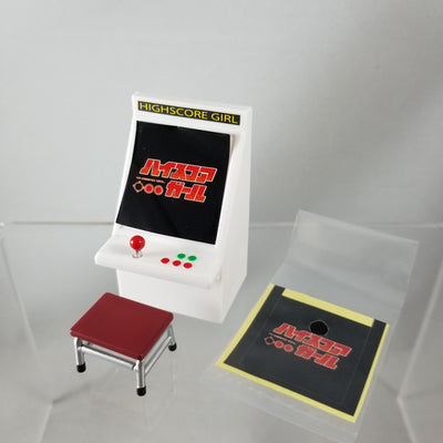 536b -Oono's Arcade Machine with Stool