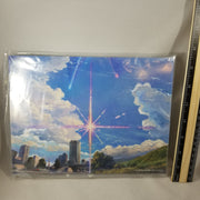 802 -Mitsuha's Backdrop (Blue Skies) & Stand