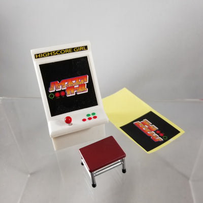 536 -Oono's Arcade Machine with Stool