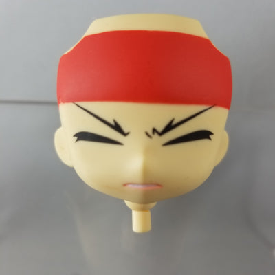 210-3 -Yukimara's Closed Eye Faceplate