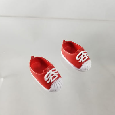 Cu-poche Extra- School Set (Sailor Fuka) Red Sneakers