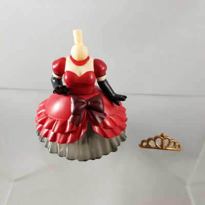 Nendoroid More: Dress Up Wedding Red & Black Ballgown with Tiara