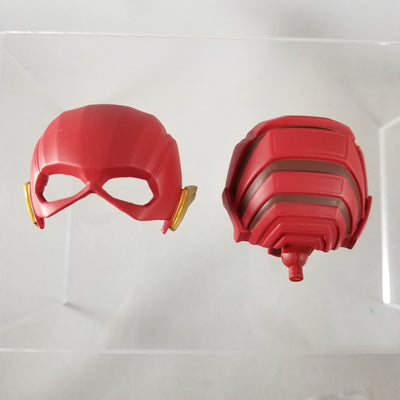 917- Flash's Helmet with Red Neck/Faceplate Joint