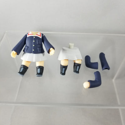 583- Mako's Girls Und Panzer Uniform Standing & Sitting