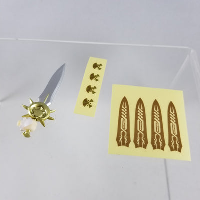 754 -Juliana's Sword with Decorative Stickers