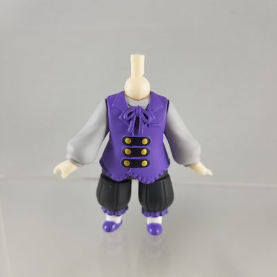 Nendoroid More: Gothic Lolita Male body with purple vest