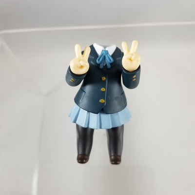 86 - Yui's K-On School Uniform with Peace Sign Hands