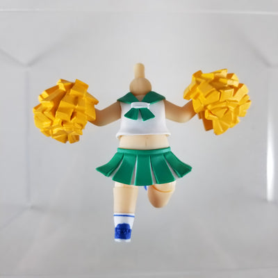 Nendoroid More: Dress Up Cheerleader Natural Green Vers. with Pom Poms