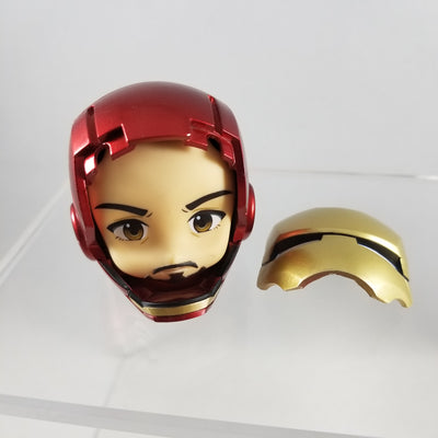 284 -Iron Man Mark 7: Hero's Edition Helmet with Built In Unmasked Face