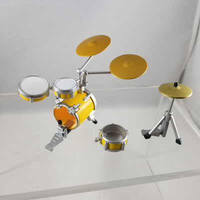 94 or 101 -Ritsu's Drum Kit with Cymbal AS-IS one broken drum see photo