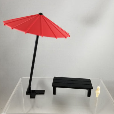 Cu-poche Extra -Nagiri Set Umbrella with Bench