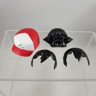 800 -Ash's Hair & Hat with Alternate Bang Piece