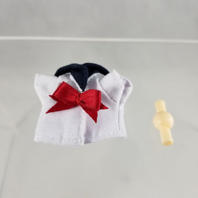 Cu-poche Extra -School Set Sailor Two Piece Red Bow Shirt