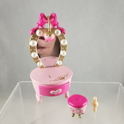 232 -Minnie Mouse's Vanity & Stool