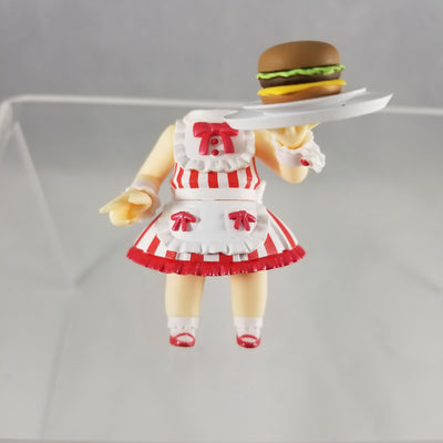 322 -Nana's Waitress Outfit (Option 2 -Holding Tray with Burger)