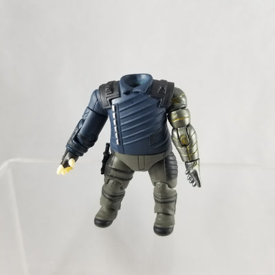 1127 -Winter Soldier's Body Suit with Attached Dagger
