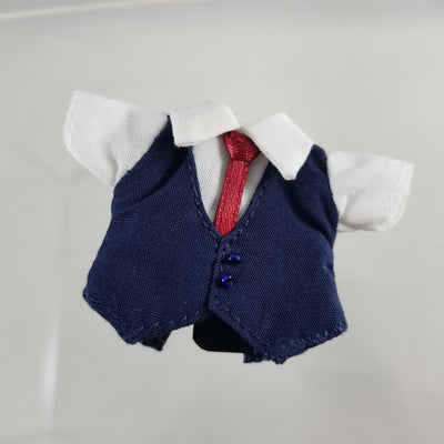 Nendoroid Doll: Navy Blue Suit Shirt with Vest Attached