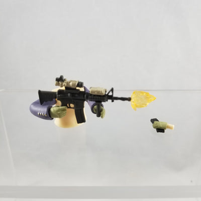 817 -Asato's Carbine Rifle with Extra Cartridge & Firing Effect
