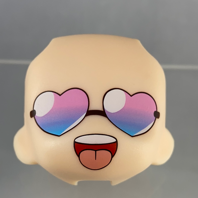 Nendoroid More Face Swap 04: Heart Sunglasses Face
