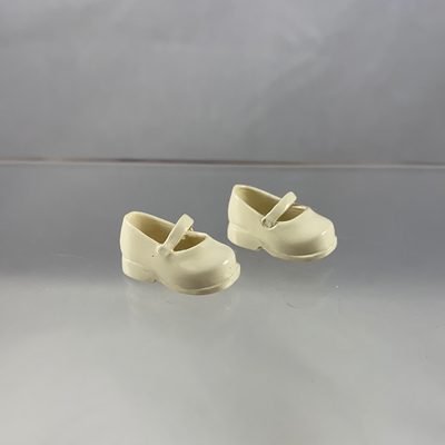 Nendoroid Doll Shoes: Offwhite Mary Janes