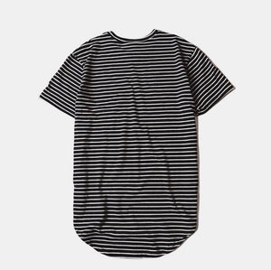 Striped & Camo | Sim Extended Tee