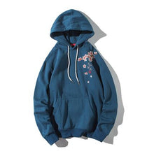 Load image into Gallery viewer, SAKURA BLOSSOMS | EMBROIDERED HOODIE