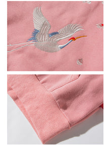 SAKURA BLOSSOMS | EMBROIDERED HOODIE