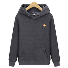 Load image into Gallery viewer, POCKET SHIBA INU | SIM HOODIE