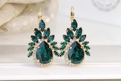 Emerald Wedding jewelry